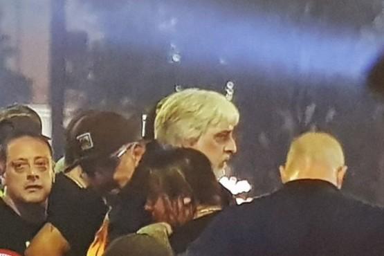 Rafael Di Zeo participó del velorio íntimo de Diego Maradona