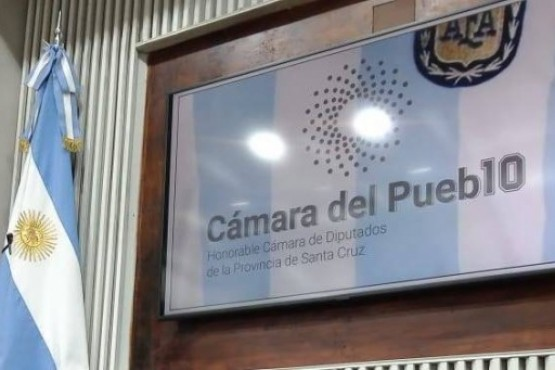 Las fotos del homenaje que hizo la Cámara de Diputados de Santa Cruz a Diego Maradona
