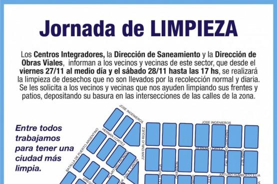 Río Gallegos| Mañana comienza operativo de limpieza en el barrio Lago del Desierto