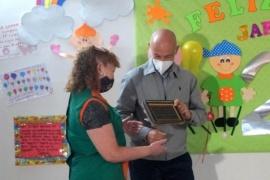 Caleta Olivia  El Jardín Maternal Sagrada Familia celebró su 25° aniversario