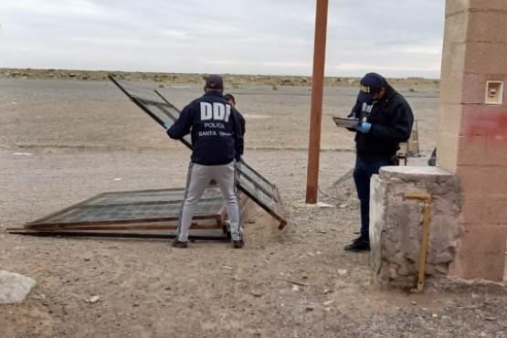 El personal de la DDI de Pico Truncado secuestró los cercos.