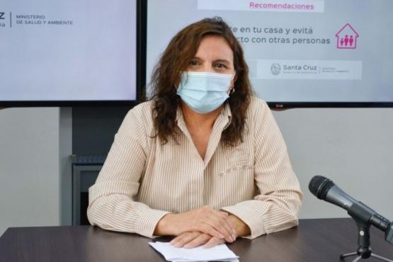 Ana María Basualdo, directora provincial de Enfermería