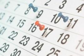 Cuánto falta para el próximo feriado y finde largo