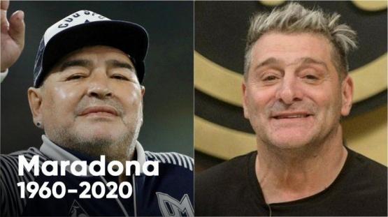 Fuerte acusación del Turco García tras la muerte de Diego Maradona