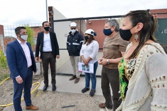 Chubut| Inauguraron la obra de red de gas en Moreira