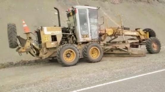 Continúan las obras de acondicionamiento de la Ruta Nacional Nº40