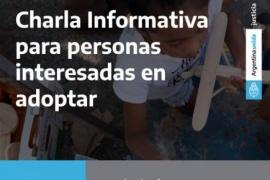 Santa Cruz  Charlas Informativas para familias que aspiran a ingresar al Registro Único con Fines Adoptivos