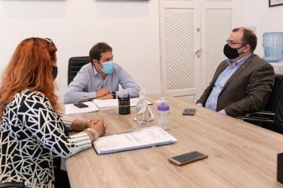 Hermida cumplió su agenda en Comodoro Rivadavia