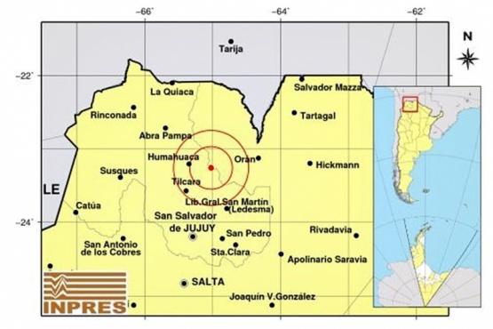 Argentina| Se sintió un fuerte sismo en Salta y Jujuy