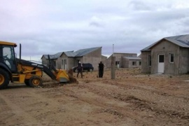 Chubut| El Ministerio de Infraestructura, Energía y Planificación de la Provincia extiende la red de agua en Gastre