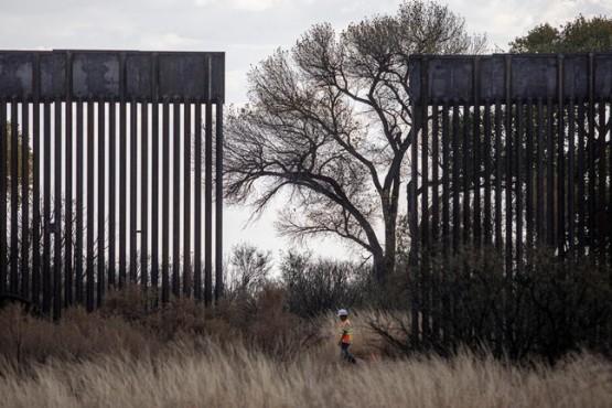 Antes de dejar el Gobierno: Trump acelera la construcción del muro en la frontera