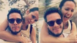 Julieta Prandi se mostró a puro amor con Emanuel Ortega