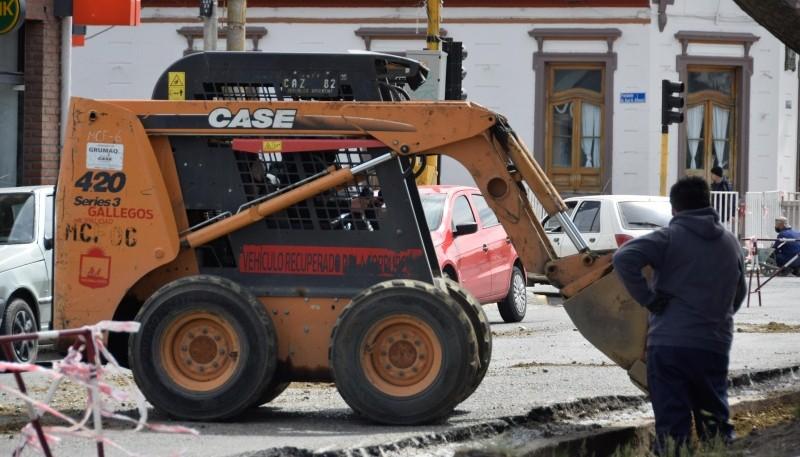 Río Gallegos  Municipio avanza con diferentes tareas en la ciudad