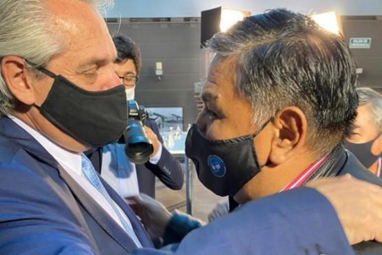 Chubut| Ávila participó del lanzamiento del Plan Gas.Ar junto al Presidente