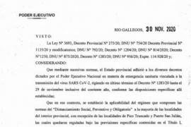Santa Cruz   La Provincia pasa a DISPO pero con restricciones