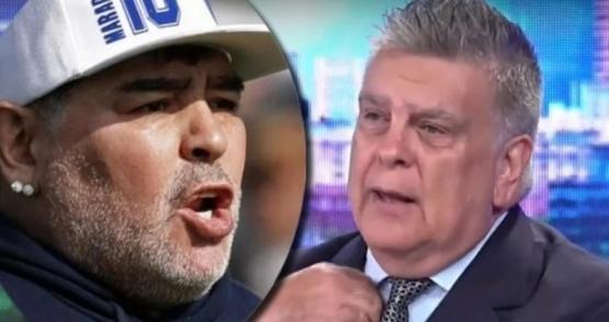 Luis Ventura reveló una dramática frase de Diego Maradona durante su internación