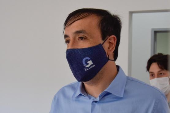 Río Gallegos| El Intendente Pablo Grasso en la apertura de atención al público del caps Peliche