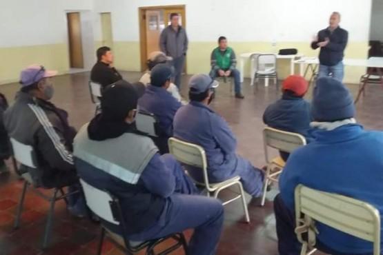 ATE Esquel presentó el quinto convenio colectivo municipal