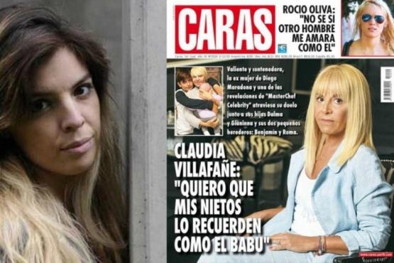Dalma Maradona furiosa con la revista Caras por una