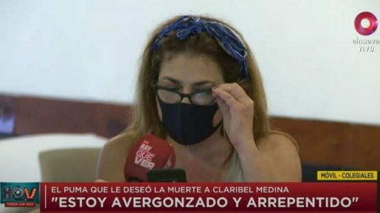 Claribel Medina reveló el mensaje que le mandó Santiago Socino