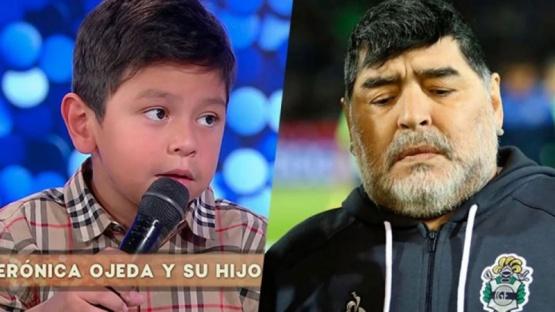 Qué dijo Dieguito Fernando tras la muerte de Maradona