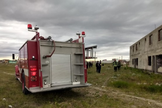 Río Gallegos| Bomberos controlaron incendio (Foto: Cristián González)