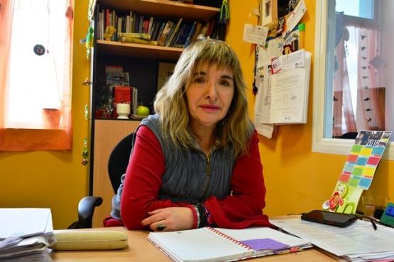 Gabriela Luque, directora provincial de Cultura.