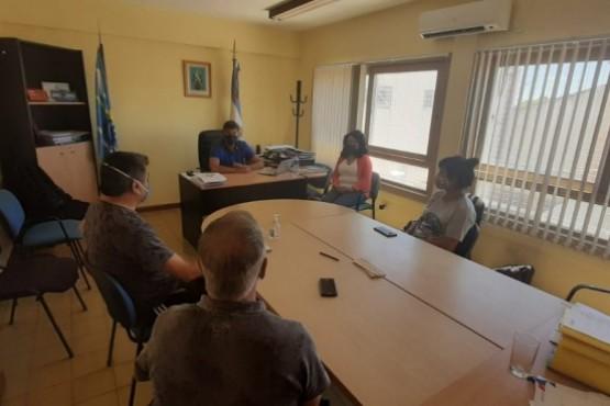 Aguilar se reunió con representantes del SUTAP para delinear el trabajo a implementar en el sector