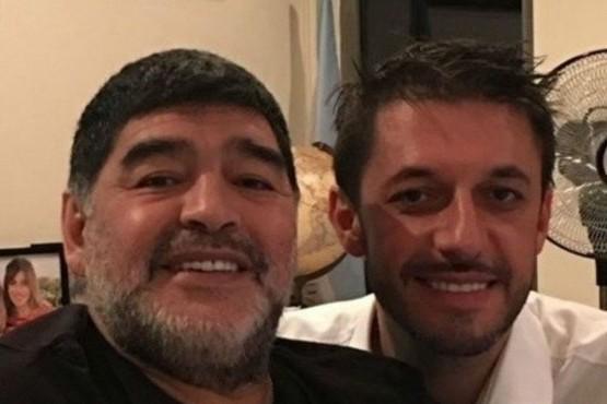 Diego Maradona y Matias Morla.