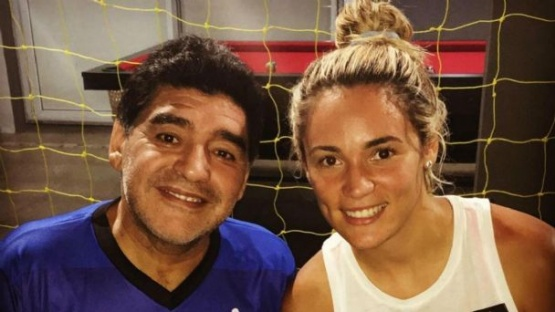 Rocío Oliva reveló una charla íntima con Dalma y Gianinna Maradona