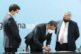 Santa Cruz  El Gobierno firmó el consenso fiscal con Nación