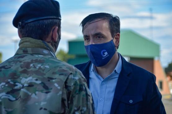 Río Gallegos| El intendente participó de la ceremonia de cambio de mando del director del Hospital Militar