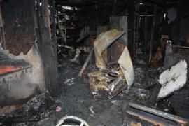 Incendio en el Madres a la Lucha: piden colaboración para la familia que perdió todo