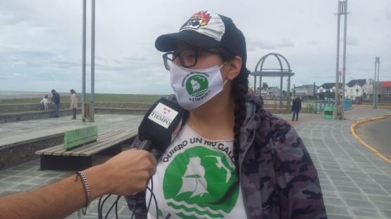Río Gallegos| Los vecinos se organizaron para limpiar la costanera