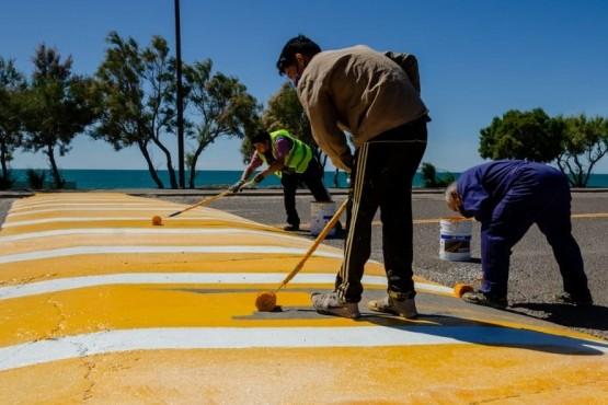 Playa Unión| Tránsito coopera con distintos mejoramientos previo al inicio de la temporada