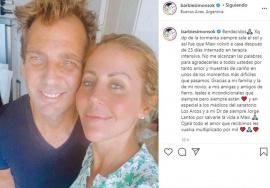 El novio de Barbie Simons recibió el alta