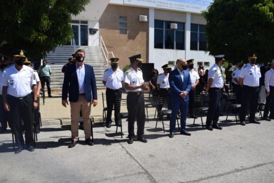 La Policía de Chubut conmemoró su aniversario 63°