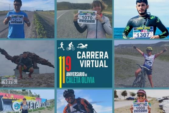 Caleta Olivia| Gran convocatoria de atletas para la primera Carrera Virtual