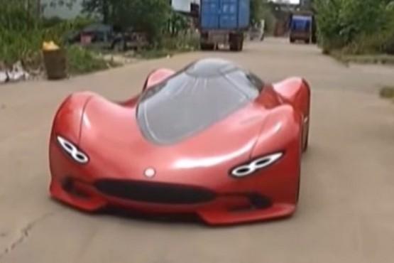 Construyó su propio auto deportivo eléctrico en 6 meses y con un presupuesto mínimo