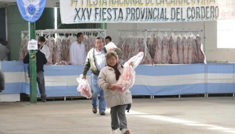 Fiesta del Cordero de la Sociedad Rural Río Gallegos. (Archivo)