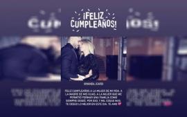 El romántico mensaje de Mauro Icardi a Wanda Nara por su cumpleaños
