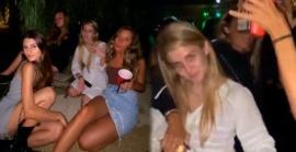 Apareció una foto de Lola Latorre con amigas en una fiesta clandestina