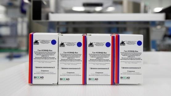 La efectividad de la vacuna rusa Sputnik V aumenta a un 96,2%
