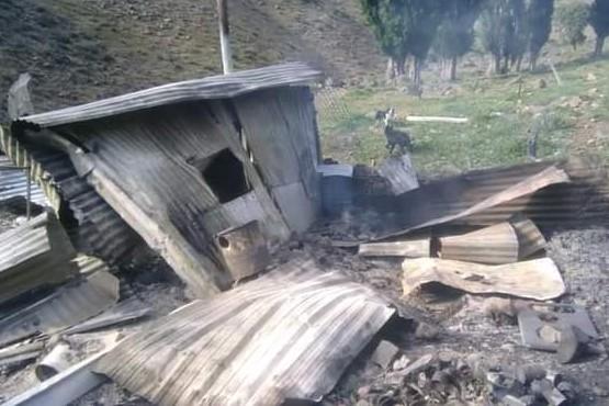 Cushanem| Pareja de ancianos murió carbonizada