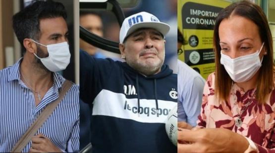 Peritan los teléfonos de los médicos de Maradona e investigan si hubo un especialista clínico