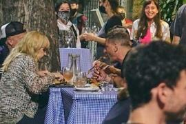"""La primera salida con compañeros de """"Masterchef Celebrity"""" de Claudia Villafañe"""
