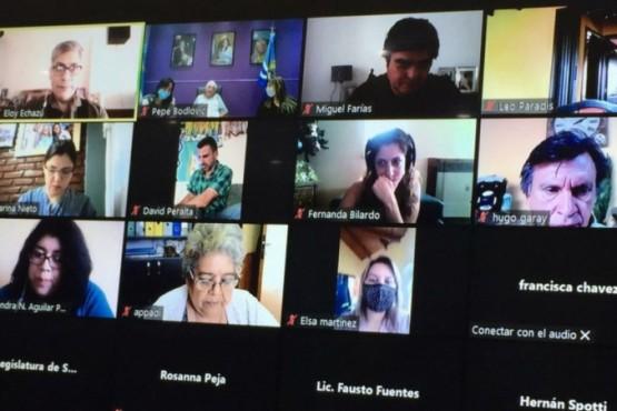 Encuentro entre referentes y diputados