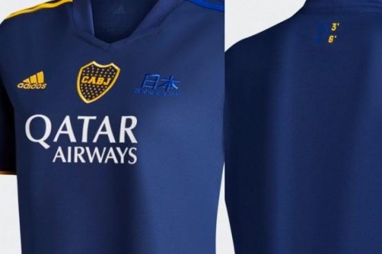 Boca Juniors tiene nueva camiseta por los 20 años de la Intercontinental ganada a Real Madrid