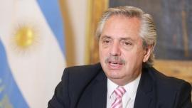 Alberto Fernández ratificó el compromiso de reducir emisiones