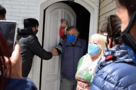 Río Gallegos  El intendente supervisó trabajos y dialogó con los vecinos